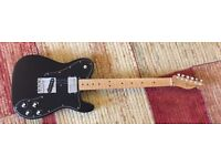 Fender 60th Anniversary Telecaster 1972 Tele Custom Classic series electric guitar + Fender gig bag