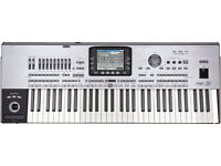 I sell for 1,100.00 Pound or exchange unused Korg PA3X Professional Arranger