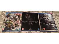 3D Blu-rays - £5 each