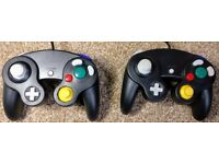 Two Gamecube controllers