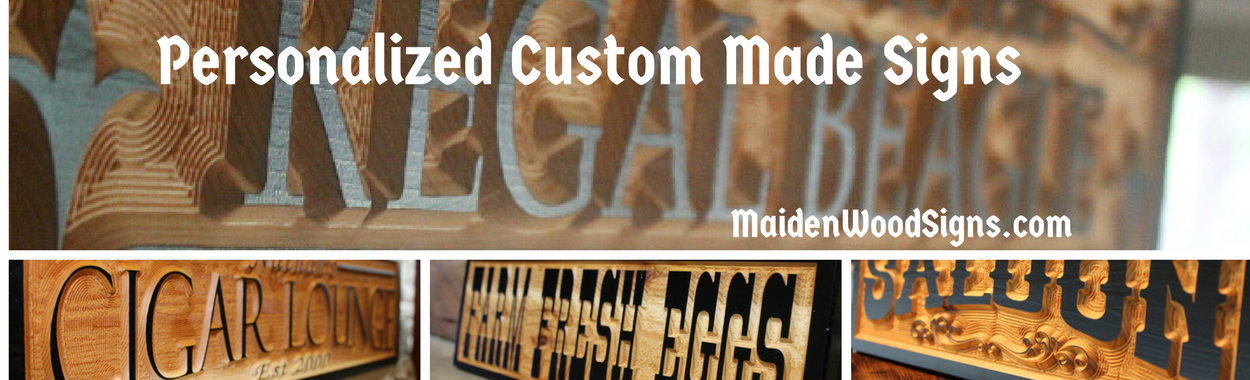 MaidenWood Signs