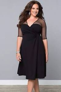 Black Sugar and Spice Dress Size 12/14 Ascot Brisbane North East Preview
