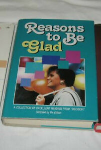 """""""Reasons To Be Glad""""  (Billy Graham)   TRURO"""