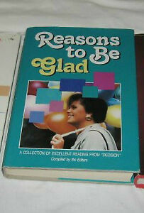"""Reasons to be Glad"" - (Billy Graham)   Truro"