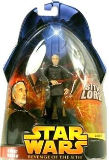 Star Wars Count Dooku from Revenge of the Sith North Sydney North Sydney Area Preview