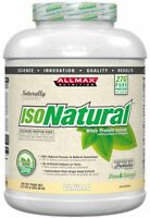 ALLMAX nutrition   whey protein isonatural 5lbs