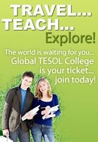 BECOME AN ESL/TESOL TEACHER NOW - ENROL TODAY
