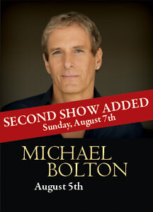 Michael Bolton - At MissionHill Winery - Aug 5