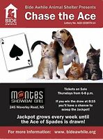 Chase the Ace - Fundraiser for Bide Awhile Animal Shelter
