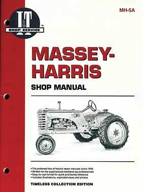 It Manual For Massey-harris Covers 21 23 44 555 More