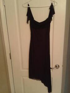 assorted fancy evening dresses in small sizes