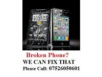 I can fix your iPhone broken screen 4/ 5/ 6/ 6s/ 6 plus. It takes 10 min