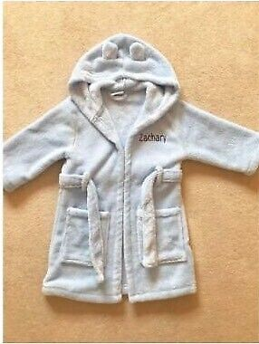 9ee66989 My 1st Years - personalised blue dressing gown 1-2yrs | in Horley ...