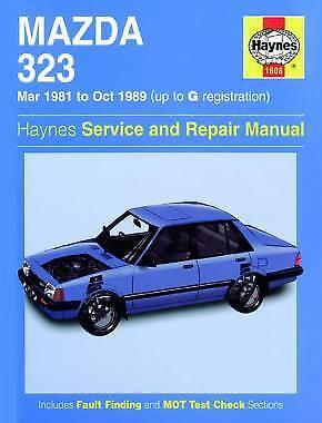 1608 Mazda 323 1981 - 1989 Haynes Service and Repair Manual