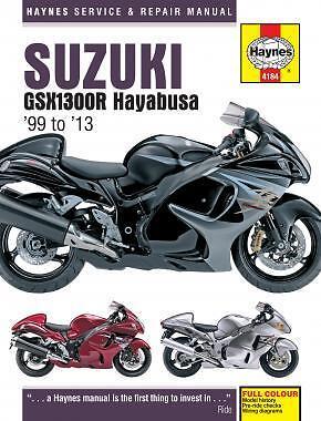 Suzuki GSX1300R 1300 Hayabusa 1999-2013 Haynes Manual