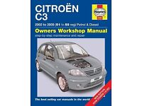 Haynes Manual Citroën C3
