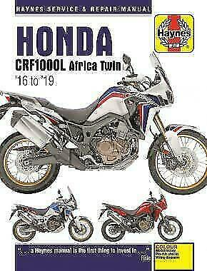 HAYNES 6434 MOTORCYCLE REPAIR MANUAL HONDA CRF1000L AFRICA TWIN (2016 - 19)
