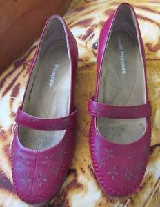 Red hush puppy shoes size 38 Tivoli Ipswich City Preview