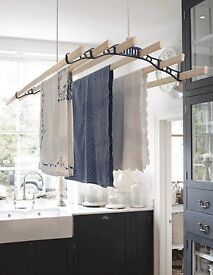 Complete laundry airer pulley kit.