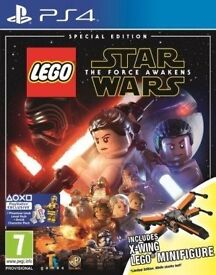 LEGO Star Wars: The Force Awakens Special Edition + X-Wing Lego Minifigure ps4