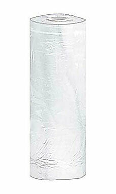 Large White Plastic Garment Bags - 21w X 3d X 72h - Roll Of 243