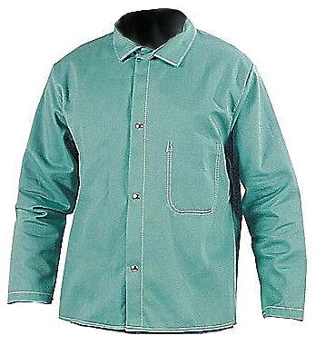Steel Grip Wc16750 Green Fr Welders Jacket