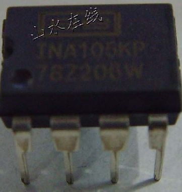 Differential Amplifier Ic Ina105 3 Pcs  New