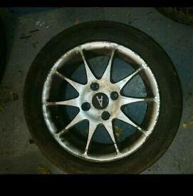 """4x 15"""" Alloy Wheels"""