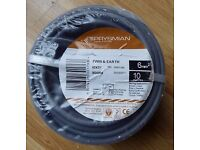 Prysmian Twin & Earth cable 10 Mtrs