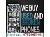 I buy any Broken/ faulty or unwanted iPhone 6 / 6s / 6plus or laptops