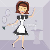 MAID TO CLEAN...