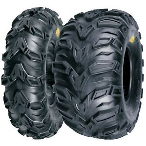 NEW-MUD-REBEL-ATV-TIRE-SET-2-FRONT-25X8-12-AND-2-REAR-25X10-12-POLARIS-SPORTSMAN