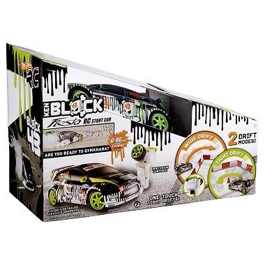 Литая современная модель автомобиля HOT WHEELS RC Ken Block Fiesta RC Stunt Car V0098 *NEW*