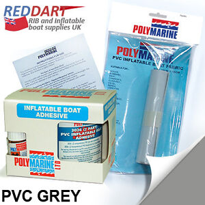 inflatable boat repair kit 2 part pvc adhesive and grey. Black Bedroom Furniture Sets. Home Design Ideas