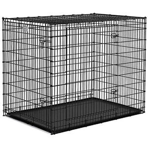Dog wire cages and bed...never used.  Wrong sizes bought.
