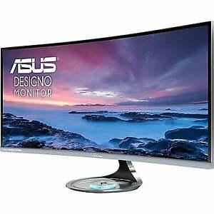 """ASUS Designo MX34VQ 34"""" 21:9 Curved Ultra Wide Monitor Ecran"""