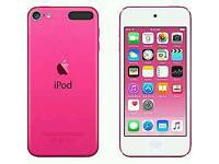 Ipod touch pink 16GB 6th generation