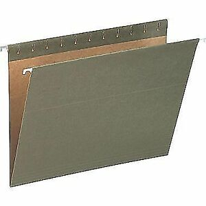 Hanging File Folders - Letter and Legal size, Green