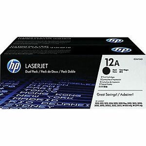 2 Brand New HP LASERJET Print Cartridges