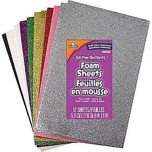 NEW:Glitter Foam Sheets/ Glitter/Flocking Powder/ WaterColour
