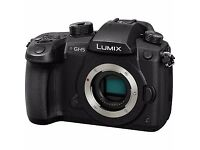 NEW -Panasonic DC-GH5 4K 60p/50p Video Recording Digital Single Lens Mirrorless Camera