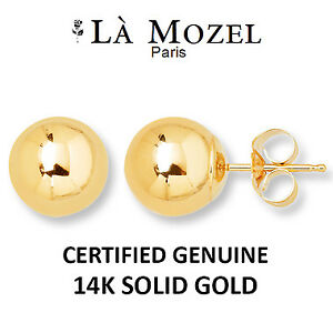 5mm, Crafted from solid 14k gold