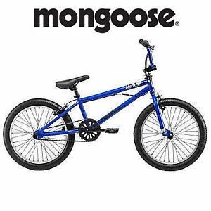 "NEW MONGOOSE 20"" BICYCLE BMX BIKE - BOY'S - BLUE 108780497"