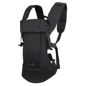 Beco Gemini Baby Carrier (Black) + Beco Drooling Pads Organic