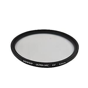 Bower FMC52UV 52mm Multi-Coated Double-Edged UV Filter (New other)