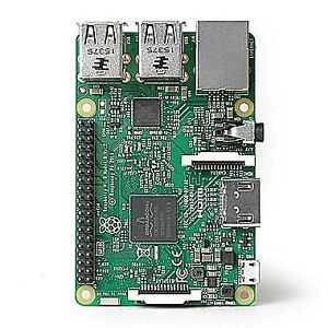 Raspberry Pi 3 with 16 gb card, printed case loaded with OSMC