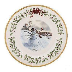 lenox christmas plate 2011