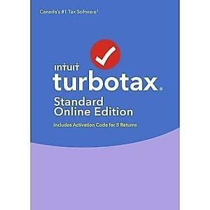 8-Returns TurboTax Standard Online Edition 2017, Windows [Download]
