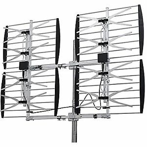 HD TV ANTENNA MULTI DIRECTION 8-BAY HD TV ANTENNA -80 MILES