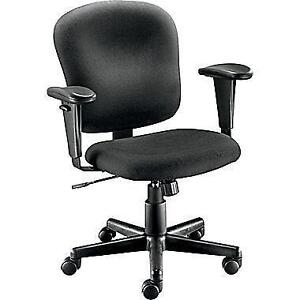 NEW IN BOX Staples Fabric Task Chair, Black model 42945